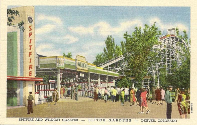Elitch Gardens 1890 1994