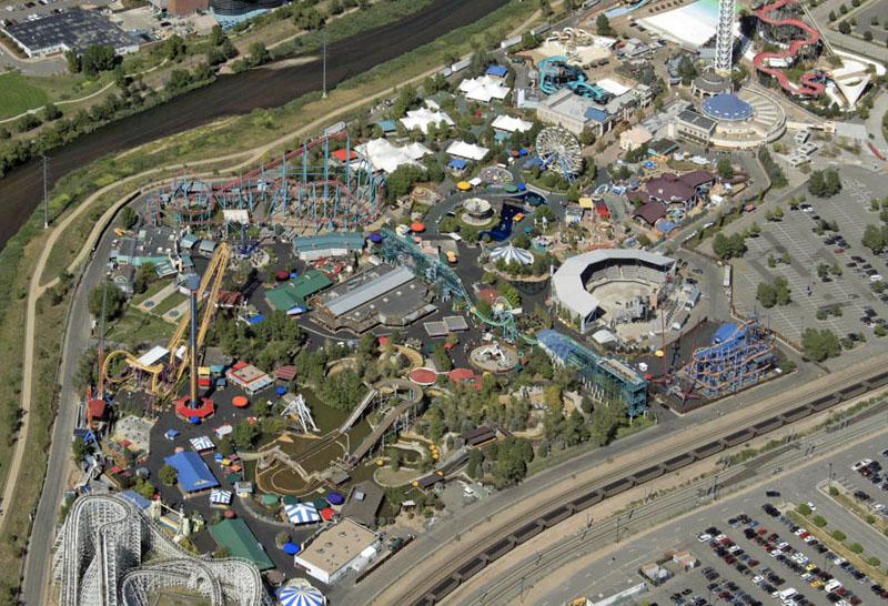 Six Flags Elitch Gardens Map Rachael Edwards