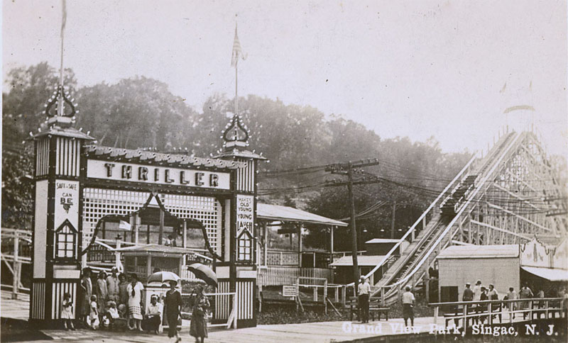 grandview amusement park signac new jersey 1925 1935 lost amusement parks