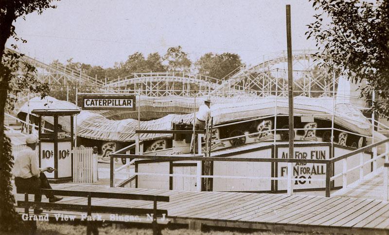 Grandview Amusement Park Signac New Jersey 1925 1935